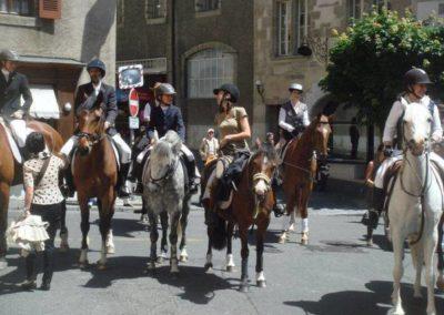 Saut, poney, trecking et amazones en Vieille-Ville de Genève