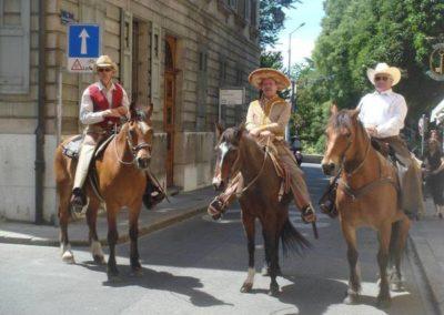 Le groupe de monte western